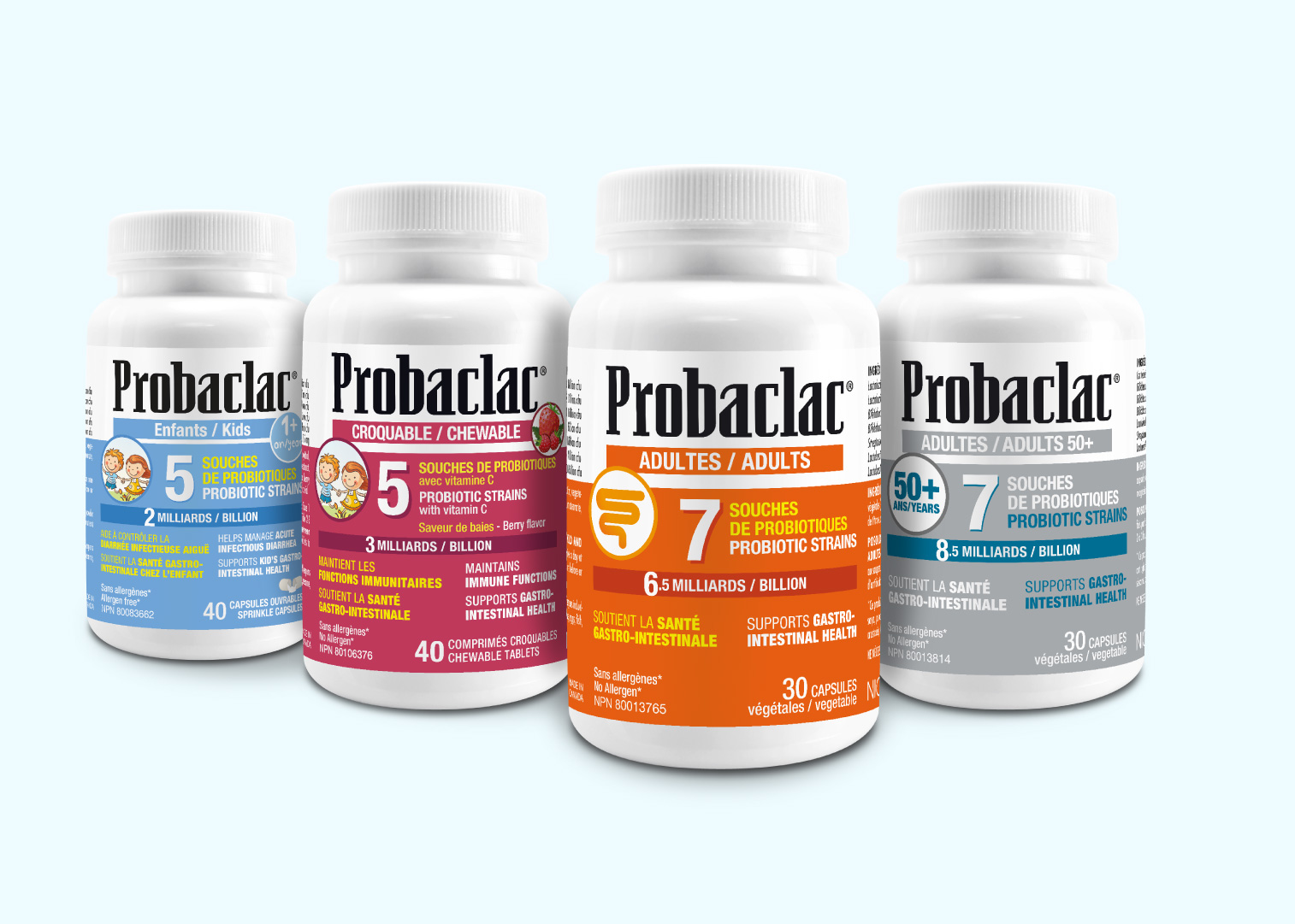The best probiotic for your age